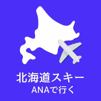 ANAで行く北海道スキー