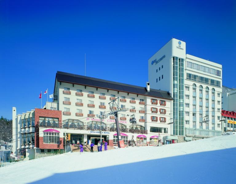 宿の一例:竜王プリンスホテル