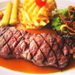 国産牛ステーキ※写真はイメージです