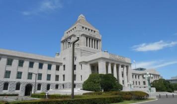 国会議事堂と東京スカイツリー天望回廊(HT)