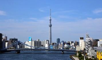 東京スカイツリーと隅田川12橋めぐり(HT)