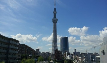 東京二大タワー競演(東京スカイツリー&東京タワー)(HT)