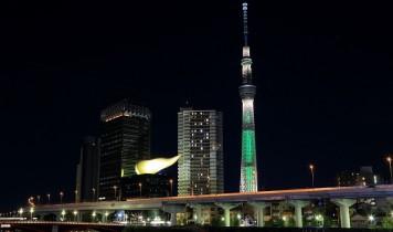夜の東京スカイツリーと至福のディナーブッフェ(HT)