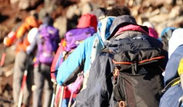【富士登山ツアー1泊2日間】フリー登山~八合目プラン