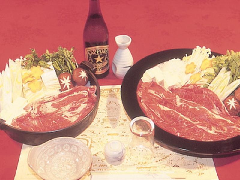 斑尾ランバーズイン/食事一例