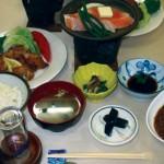 ホテル十二屋/食事一例
