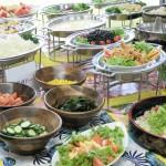 北志賀グランドホテル/夕食バイキングの例の