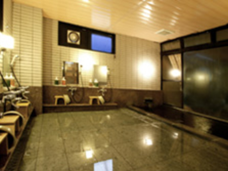 四季の宿山三荘/大浴場