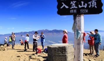 【はとバスで行く】入笠山・天空の楽園を行く