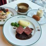 ブラッスリーオザミのフランス料理