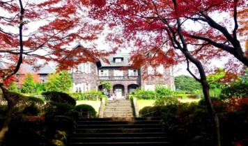 帝国ホテルと秋の庭園めぐり