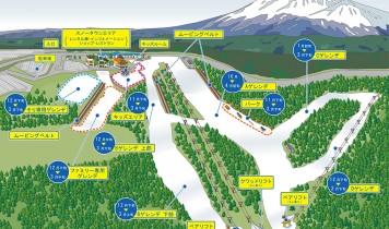 《朝発日帰り・8か所発着》直行バス&リフト乗り放題付/富士山2合目~イエティ(FT)